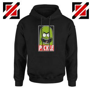 Pickle Rick Morty Black Hoodie