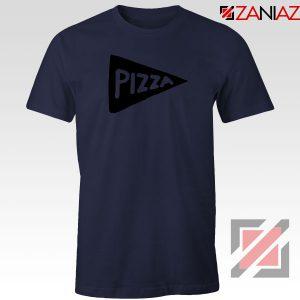 Pizza Graphic Navy Blue Tshirt