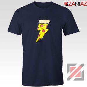Pizza Power Navy Blue Tshirt