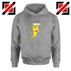 Pizza Power Sport Grey Hoodie