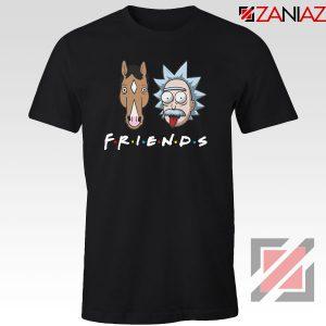 Rick Bojack Friends Black Tshirt