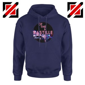 Single Of The Night Navy Blue Hoodie