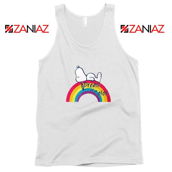 Snoopy Dream Rainbow Tank Top