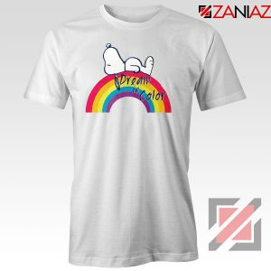 Snoopy Dream Rainbow Tshirt