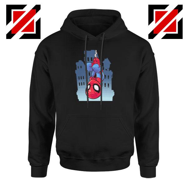 Spiderman Action Black Hoodie