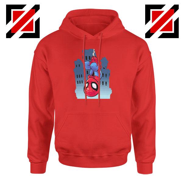 Spiderman Action Red Hoodie