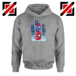 Spiderman Action Sport Grey Hoodie