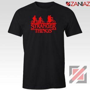 Stranger Things Black Tshirt