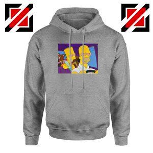 The Simpsons Merch Sport Grey Hoodie