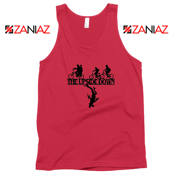 The Upside Down Halloween Red Tank Top