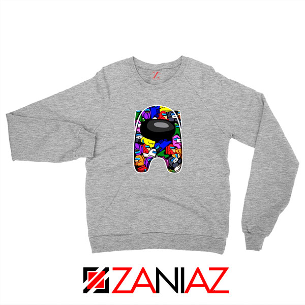 AMUS Online Game Best Sport Grey Sweatshirt