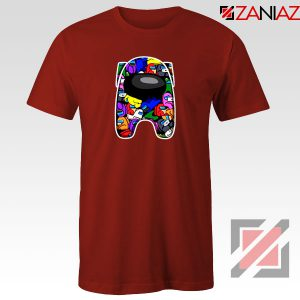 AMUS Online Game Graphic Red Tshirt