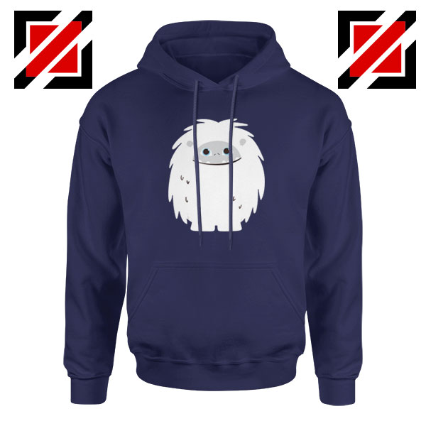 Abominable Smile Best Graphic Navy Blue Hoodie