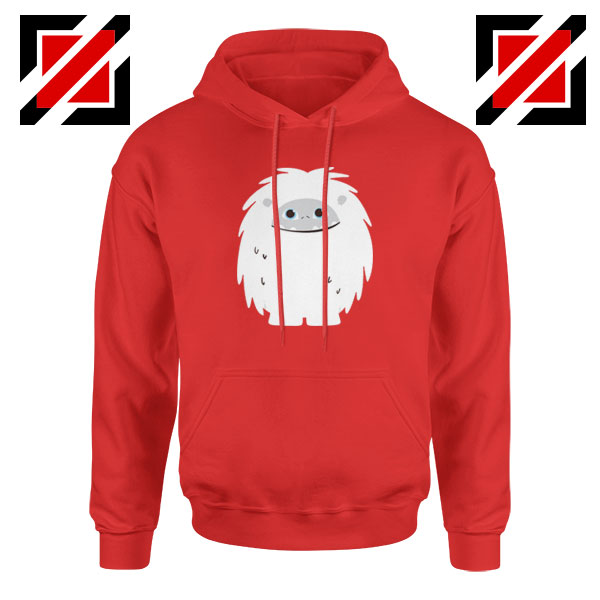 Abominable Smile Best Graphic Red Hoodie