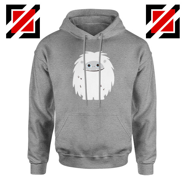 Abominable Smile Best Graphic Sport Grey Hoodie