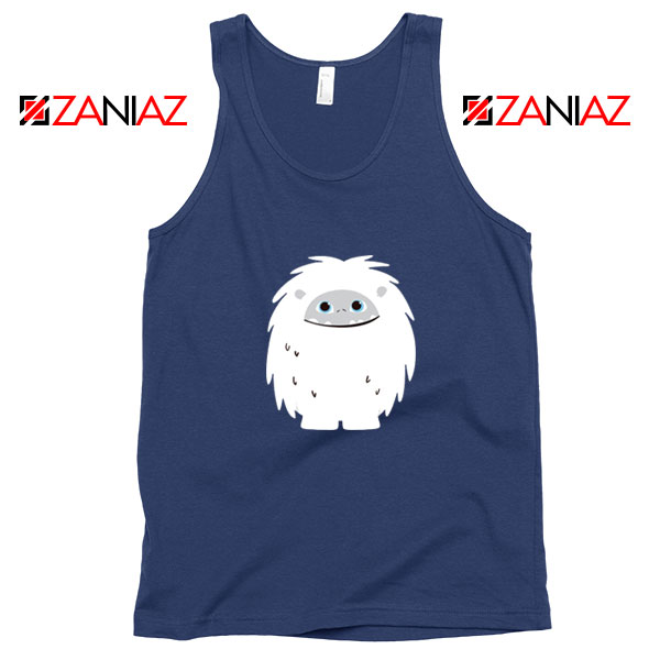 Abominable Smile Graphic Movie Navy Blue Tank Top