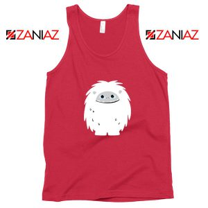 Abominable Smile Graphic Movie Red Tank Top