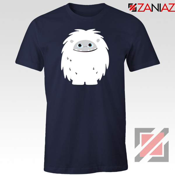 Abominable Smile Graphic Navy Blue Tshirt