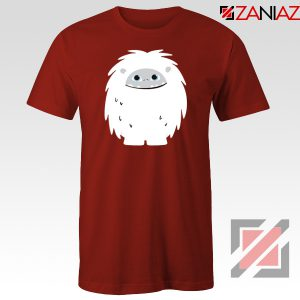 Abominable Smile Graphic Red Tshirt