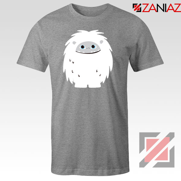 Abominable Smile Graphic Sport Grey Tshirt