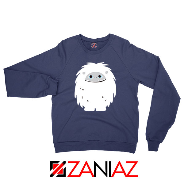 Abominable Smile New Graphic Navy Blue Sweatshirt