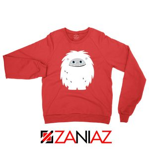 Abominable Smile New Graphic Red Sweatshirt