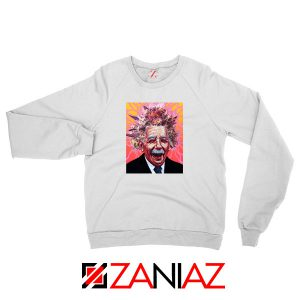 Albert Pinestein Graphic New Sweatshirt