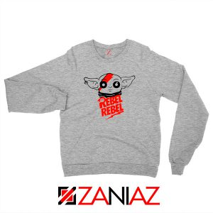Baby Rebel Yoda Design Best Sport Grey Sweatshirt