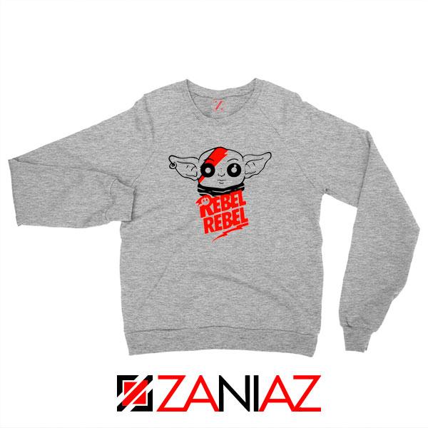 Baby Rebel Yoda Design Best Sport Grey Sweatshirt