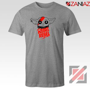 Baby Rebel Yoda Design Sport Grey Tshirt