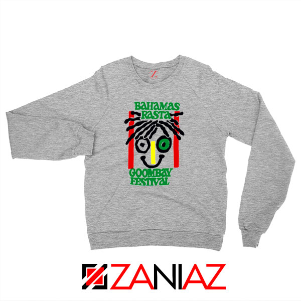 Bahamas Rasta Sport Grey Sweatshirt