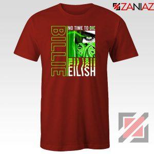 Billie Eilish American Singer Red Tshirt
