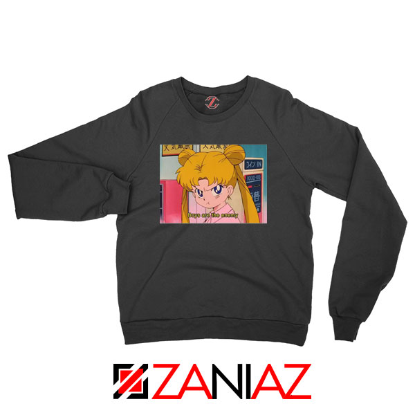 Boys Are The Enemy Black Sweatshirt