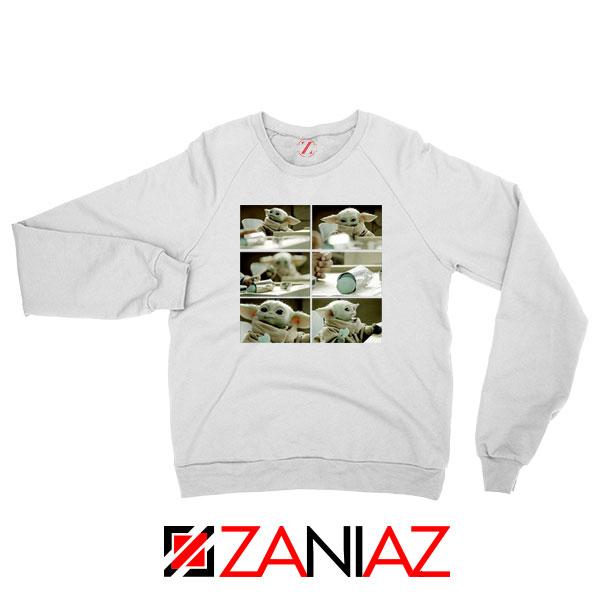 Cookie Stealer Grogu Graphic Sweatshirt