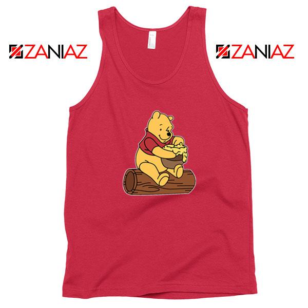 Disney Winnie The Pooh Red Tank Top
