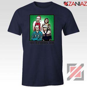 Ho Bloody Ho Parody Gaphic Navy Blue Tshirt