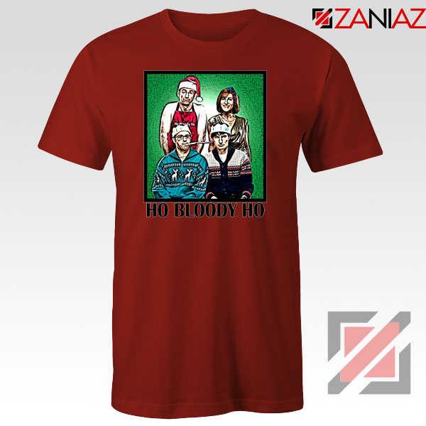Ho Bloody Ho Parody Gaphic Red Tshirt