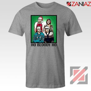 Ho Bloody Ho Parody Gaphic Sport Grey Tshirt