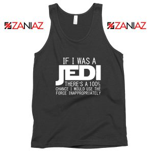If I Was a Jedi Vintage Tank Tops