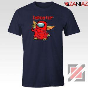Impostor Baby Yoda The Mandalorian Navy Blue Tshirt