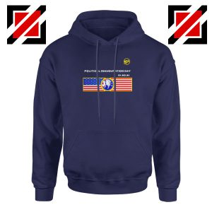 Inauguration Day USA Best Navy Blue Hoodie