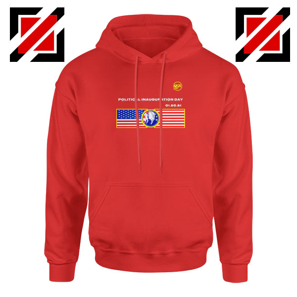 Inauguration Day USA Best Red Hoodie