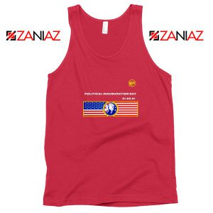 Inauguration Day USA Best Red Tank Top
