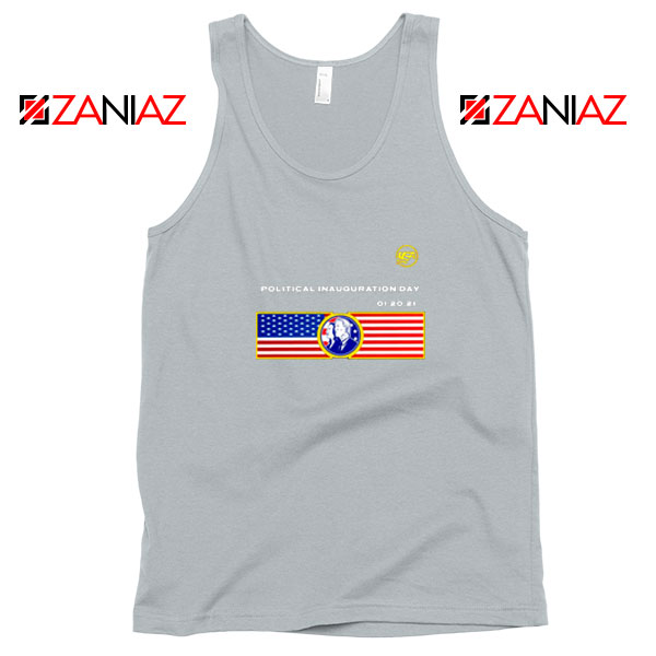 Inauguration Day USA Best Sport Grey Tank Top