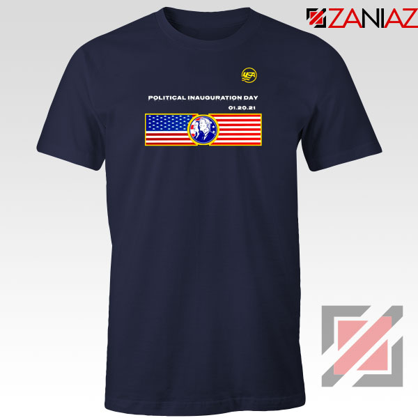 Inauguration Day USA Navy Blue Tshirt