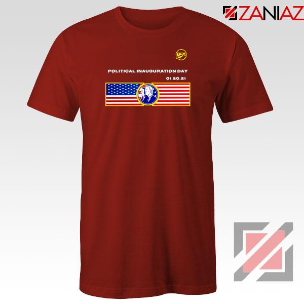 Inauguration Day USA Red Tshirt