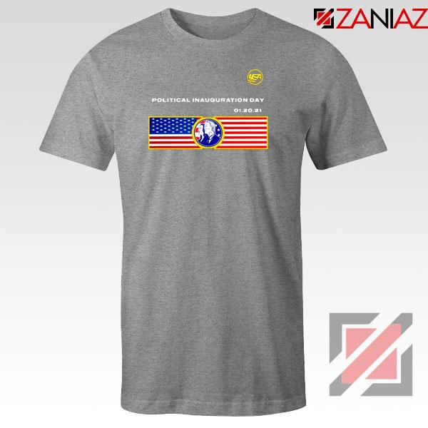 Inauguration Day USA Sport Grey Tshirt