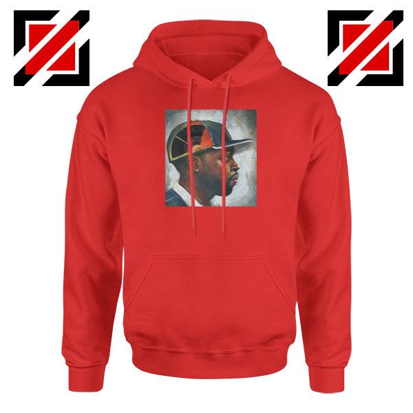 J Dilla Music Rapper Red Hoodie