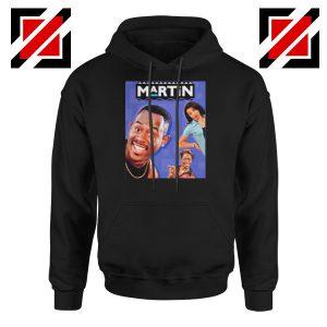 Martin 90s Sitcom Black Hoodie