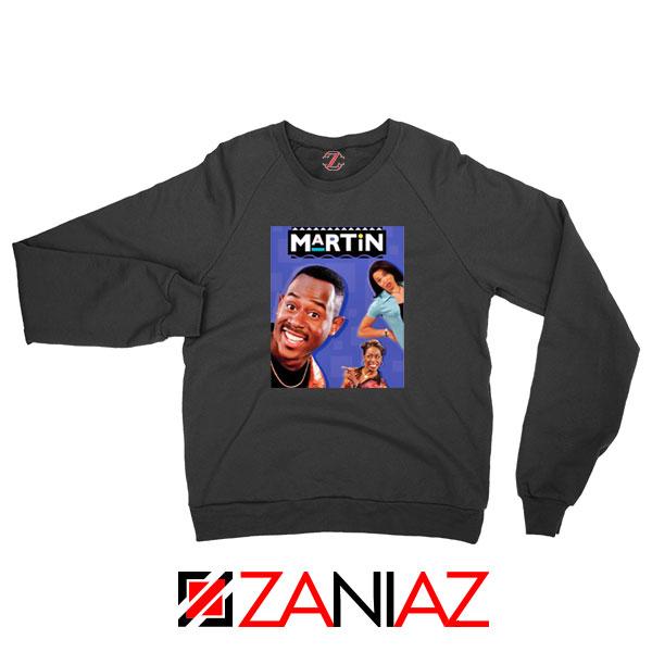Martin 90s Sitcom Black Sweatshirt